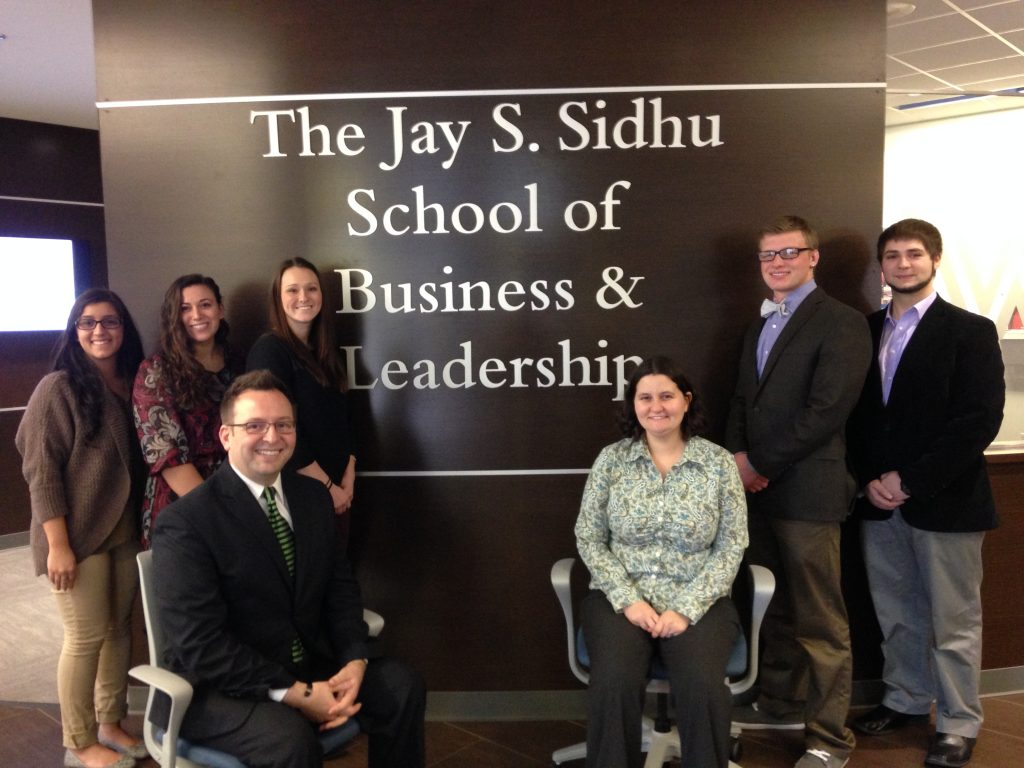 Researchers from the Jay S. Sidhu School of Business & Leadership