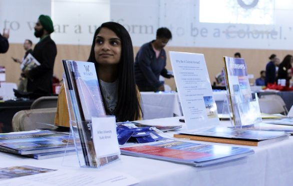 Fall Internship, Career and Graduate Programs Fair Draws Crowds